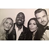 The pastor that married Kim and Kanye, Rich Wilkerson Jr., shared a photo of himself and his wife with the new married couple. Source: Instagram user richwilkersonjr