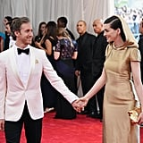 Anne Hathaway and Adam Shulman, 2015