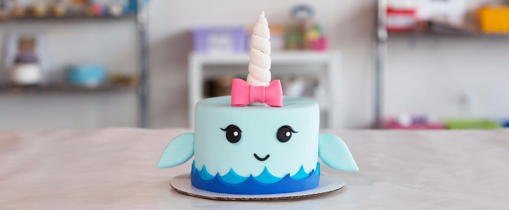 Unicorn of the Sea — Prepare to Be Obsessed With This Narwhal Cake