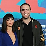 Bel Ami costars Robert Pattinson and Christina Ricci linked up in Berlin.
