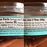 Trader Joe's Chocolate Hummus Ingredients and Nutritional Info
