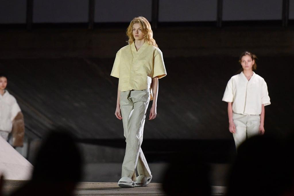 Yeezy Show at Paris Fashion Week