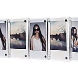 Clear Acrylic Fridge Magnetic Frames For Mini Polaroids