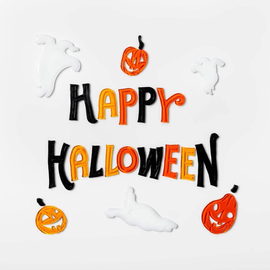 Happy Halloween Window Cling