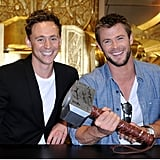 When They Acted Civilized and Shared Thor's Hammer