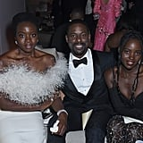 Danai Gurira, Sterling K. Brown, and Lupita Nyong'o at the 2019 SAGs Afterparty