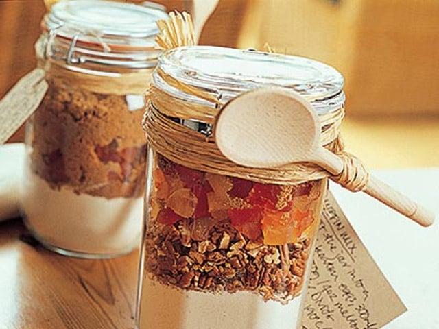 Mason Jar Muffin Mix