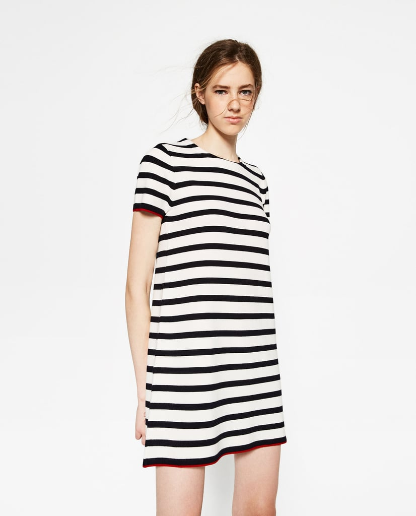 Zara Short Sleeve Dress ($50)