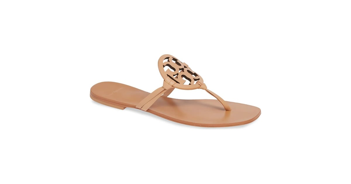 6afd8a1eb24 Tory Burch Miller Square-Toe Thong Sandal | Best Designer Shoes on ...