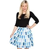 TARDIS Circle Skirt