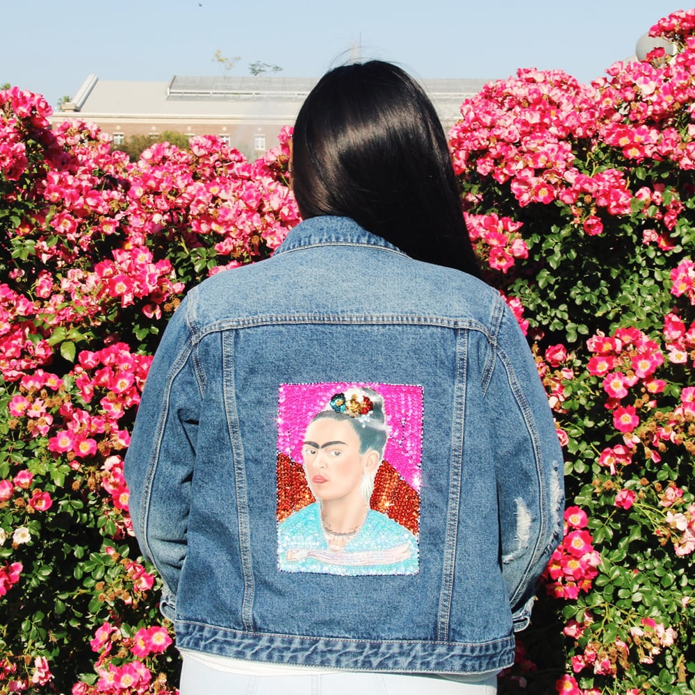 "Your Instagram feed might be looking a little extra sparkly recently, all thanks to the sequined jackets from online shop Hija de tu Madre. Latinx are going nuts over the brand's denim pieces featuring Frida Kahlo, La Virgen de Guadalupe, and El Sagrado Corazón, and once you see the awesome designs you will, too.  Patty Delgado, the Mexican-American creator of the Los-Angeles-based brand, had a powerful message in mind when she started the business after a trip to Mexico: ""I want to create apparel that is the perfect depiction of my cultural intersection. What's more American than denim? And what's more Mexican than la Virgen de Guadalupe?""    Hija de tu Madre also sells custom jewelry with sayings like xicana, boricua, and bruja, Virgen de Guadalupe iPhone cases and cute crop tops. Scroll ahead to check out some of the jacket options and find links to shop the brand.      Related:                                                                                                           We Are Not Saying This Lightly: This Is the Selena Quintanilla Tee You Need"
