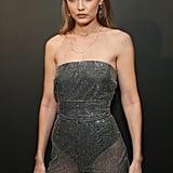 Gigi Hadid's Sparkly Jumpsuit September 2018