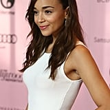 Ashley Madekwe was on the red carpet at The Hollywood Reporter's Power 100: Women in Entertainment breakfast in LA.
