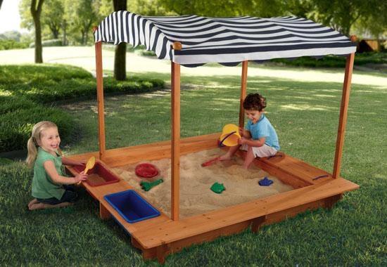 KidKraft Sandbox With Canopy