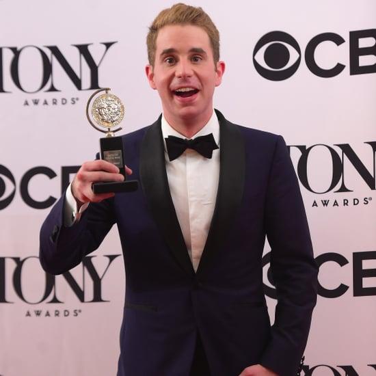Ben Platt at the 2017 Tony Awards