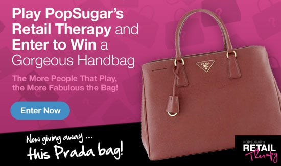 Enter to Win a Gorgeous Prada Handbag!