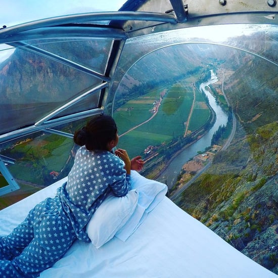 Cliffhanger Hotel in Peru