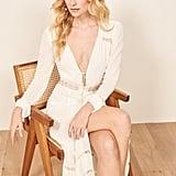 Reformation Imogen Dress in White