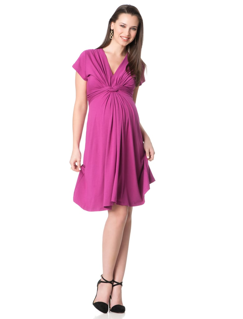 009f8aceb5adb Séraphine Short Sleeve Knot Front Maternity Dress (Kate's pick ...