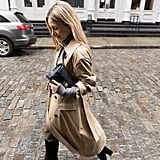 The Outfit Formula: Vintage Belt, Bag, and Boots + a Trench Coat + a Turtleneck + Pants