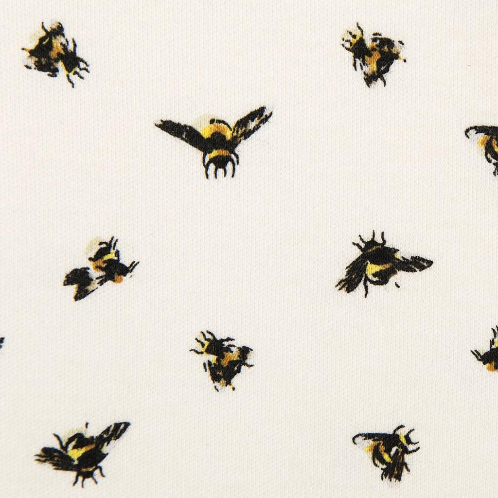 Baby Bee Print Knit Blanket  ($13)