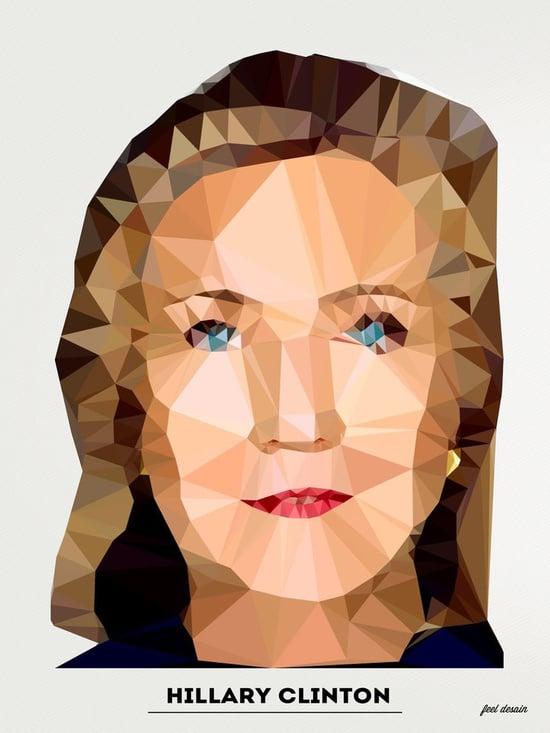 Hillary Clinton Art Print ($15-$28)