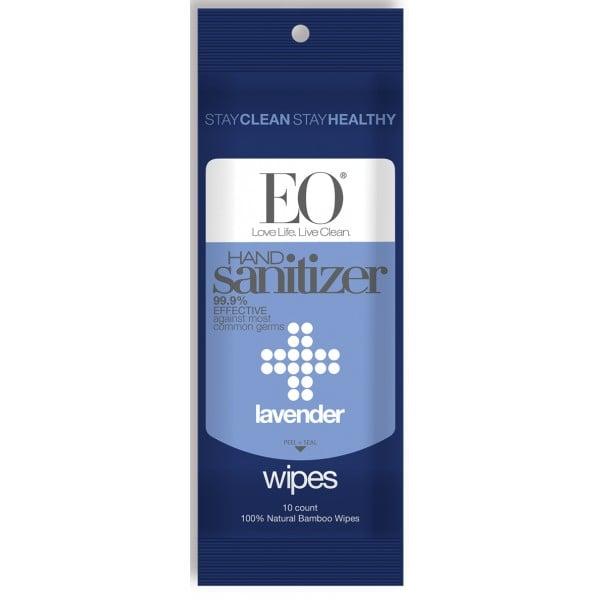 EO Lavender Hand Sanitizer Wipes