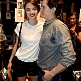 Orlando Bloom so proud of Miranda Kerr.