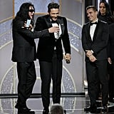 James Franco Lets His Brother and His Muse Crash His Speech