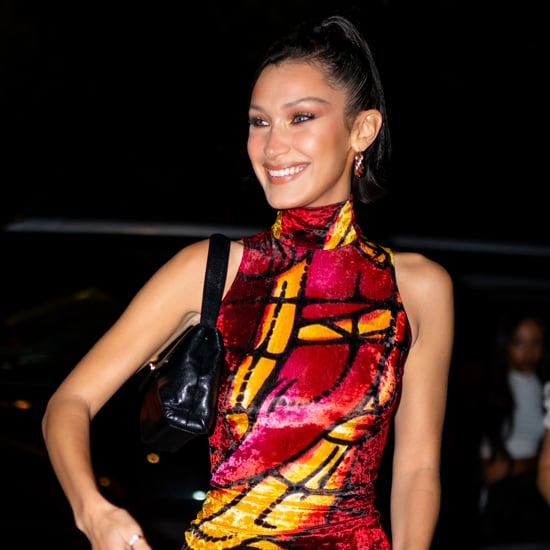 Bella Hadid Celebrated Her Birthday in a Vintage Dior Dress