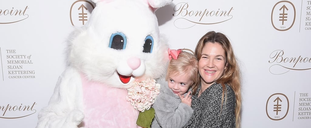 Drew Barrymore and Daughter Frankie Have a Precious Date With the Easter Bunny
