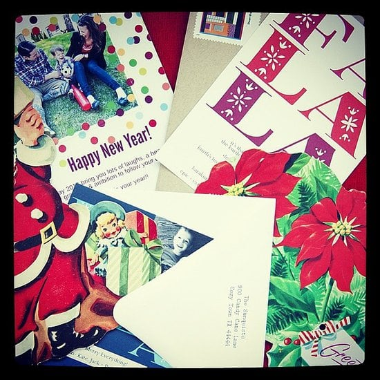 Make last-minute holiday cards  Source: Instagram user RedStamp