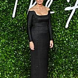 Caroline Rush at the British Fashion Awards 2019