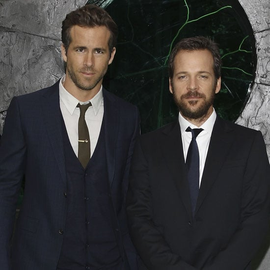 Ryan Reynolds and Peter Sarsgaard Green Lantern Pictures