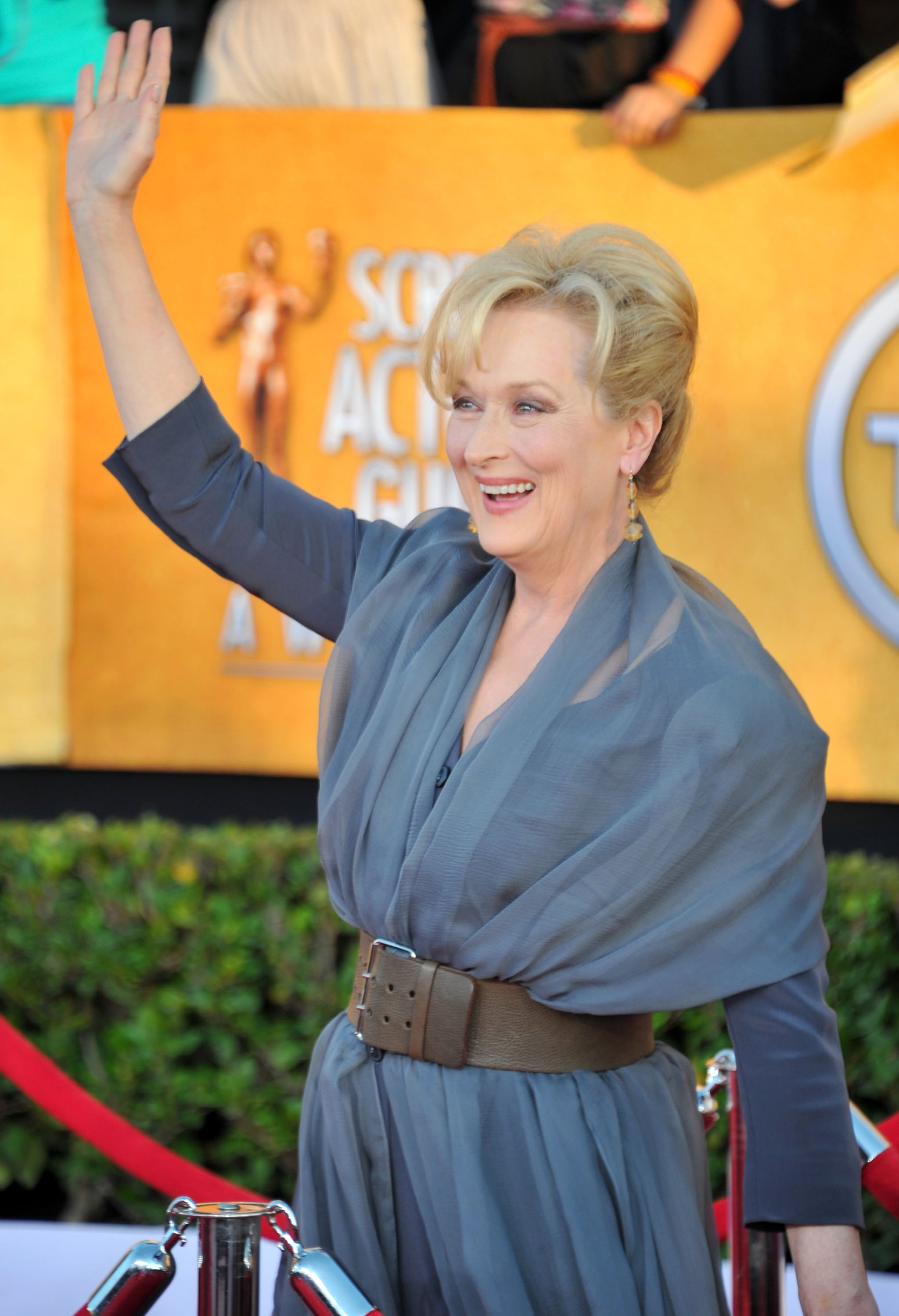 Meryl Streep at the SAG Awards