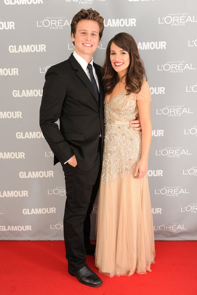 She brought her best friend, Jonathan Groff, as her date to Glamour's Women of the Year Awards in NYC in November 2011.