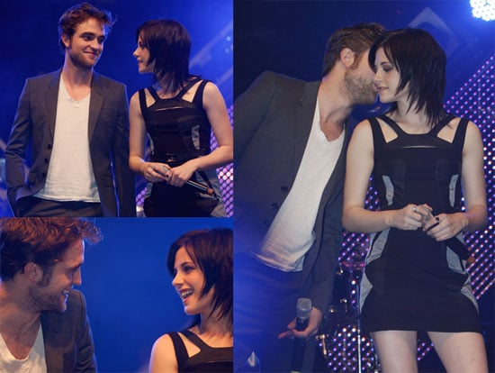 Photos of Robert Pattinson, Kristen Stewart, and Taylor Lautner in Germany For New Moon 2009-11-14 11:31:20