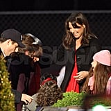 Pictures of Katie Holmes and Adam Sandler