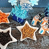 Snowman-Inspired Snacking Dishes