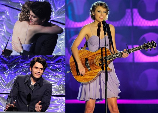 Pictures Of John Mayer Presenting Taylor Swift A Songwriters Award In Nyc 2010 06 18 13 30 00 Popsugar Celebrity