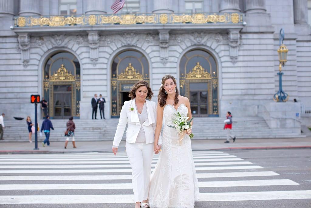 Same sex san francisco city hall wedding popsugar love sex junglespirit Gallery