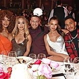 Jourdan Dunn, Rita Ora, Conor McGregor, Irina Shayk, and Lewis Hamilton