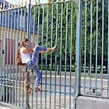 Oh, and they may or may not have helped me scale a fence while roaming around Paris that same Summer.