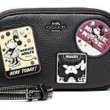 Crossbody Clutch With Minnie Mouse Patches