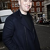 Sam Smith was spotted outside the BBC studios in London.