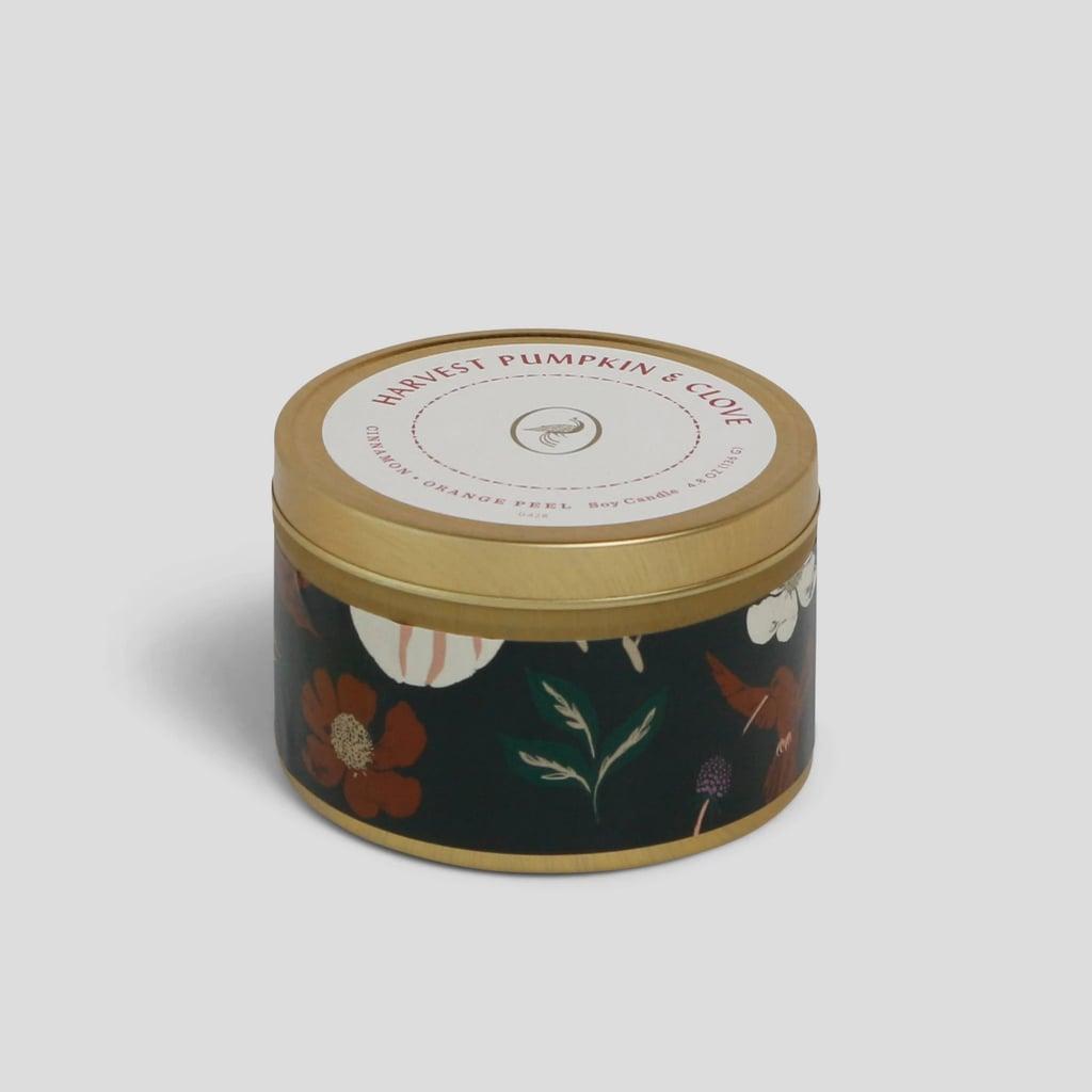 Pumpkin & Clove Tin Jar Candle