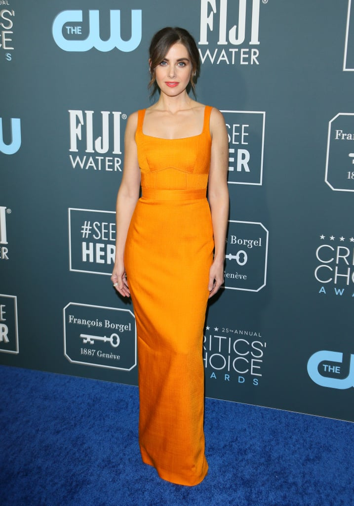 Alison Brie at the 2020 Critics' Choice Awards