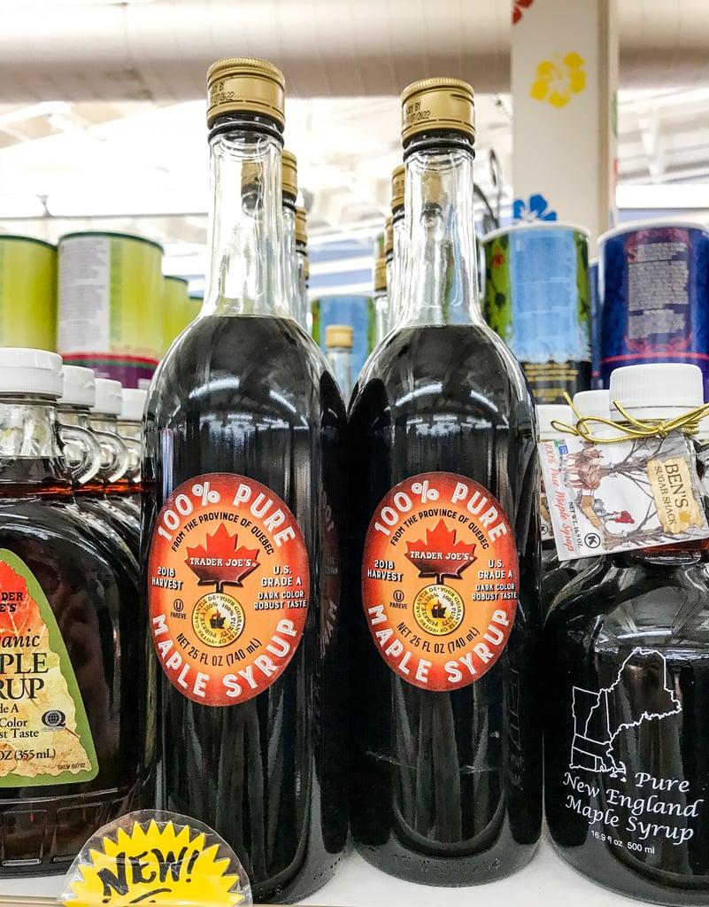 Trader Joe's Pure Maple Syrup ($13)