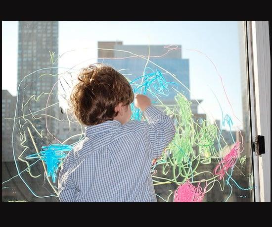 Go Wild With Crayola's Window Crayons