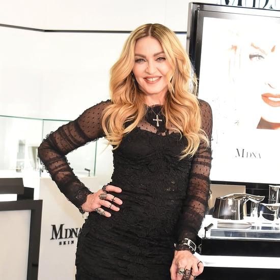 Madonna Pink Makeup March 2019
